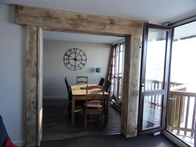 Photo for LOVE LA PLAGNE: MAGNIFICENT APARTMENT 6 PERS ON THE TRACKS