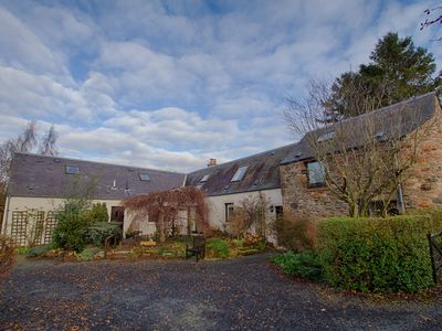 Photo for The Old Paper House Near Melrose - detached converted barn in 0.5 acre gardens