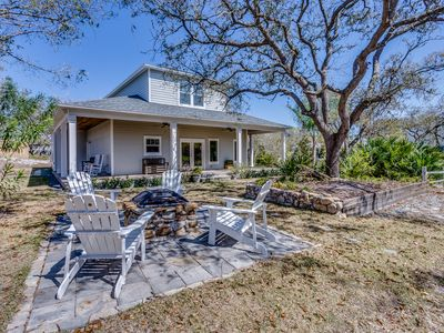 Photo for The Vilano - Beautiful, & Secluded 3 Bed, 2.5 Bath Home Steps from the Beach!