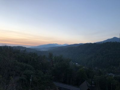 Photo for Relax & enjoy AMAZING 180 Degree Views of Mt LeConte