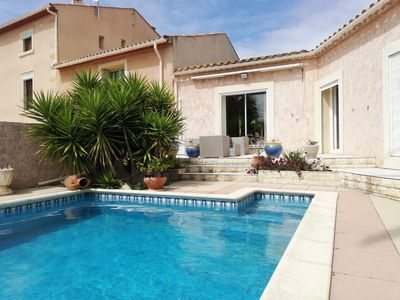 Photo for villa in the Corbières with pool on 1400 m² of land