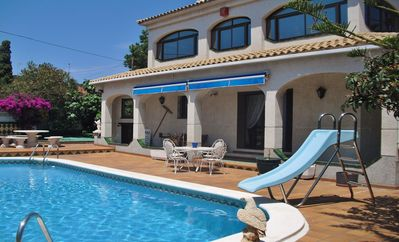 Photo for Holiday home with pool, wifi and parking in Coma-Ruga/Vendrell – Costa Dorada – CD378