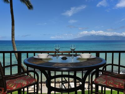 Photo for Enjoy The Sound Of The Waves and Beautiful Blue Direct Ocean Views! KA 309