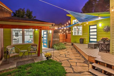 End each FoCo adventure with nights on this pristine patio.
