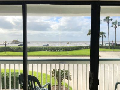 Photo for Front Row Beachfront Condo! JUST Remodeled with a Great View!! Casa Del Mar #150