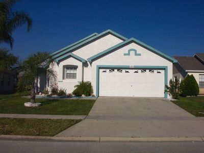 Photo for KISSIMMEE SUN VILLA, BEAUTIFUL 4 BED HOME WITH WEST FACING POOL IN KISSIMMEE!
