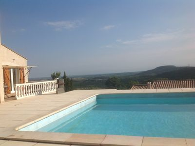 Photo for Villa with stunning Views,10x5 private pool, Quiet location, WIFI,large terrace.