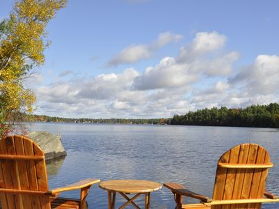 Photo for 3 Bedroom Cottage with Great Waterfront, Beautiful Views, Hot Tub & Motor Boat