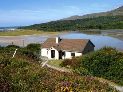 Photo for Modern detached bungalow (one of two and near to 152) on the side of the Lamb's Head Peninsula…