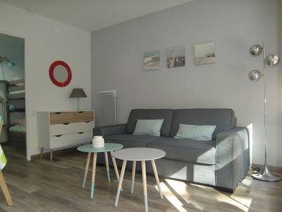 Photo for Nice studio renovated, close to the town center and the beach