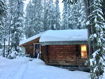 Photo for The Baldy Slope Side Cabin -ski-in ski out at Mt Baldy