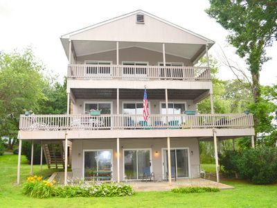 Photo for Oversized Summer Rental with water views!