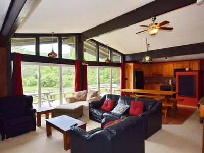 Photo for Walking Distance to The Blue Mountain Village! Classic Mountain Facing Chalet- 512244