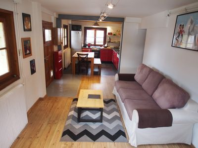 Photo for ground floor 3 rooms in the heart of Les Houches
