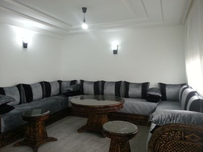 Photo for Large and beautiful 2 rooms new modern with air conditioning wifi and satelite