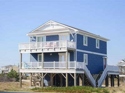 Photo for The Beach Tree: Oceanside 4 bedroom home - fish, surf, walk on the beach, swim and relax.
