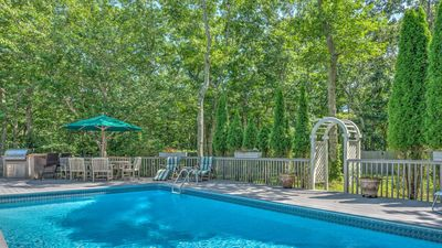Photo for New Listing: Gorgeous Garden Home with secluded and heated pool, quiet getaway