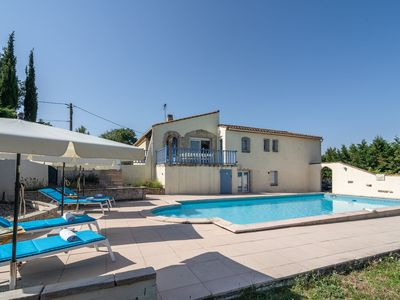 Photo for Modern Villa with Private Pool in Malves-en-Minervois