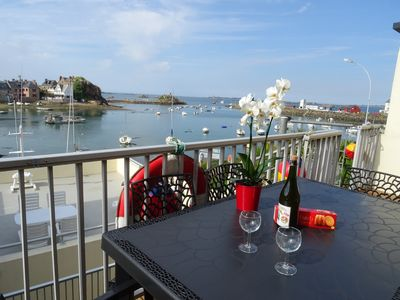 Photo for House in Loguivy harbour, direct sea view