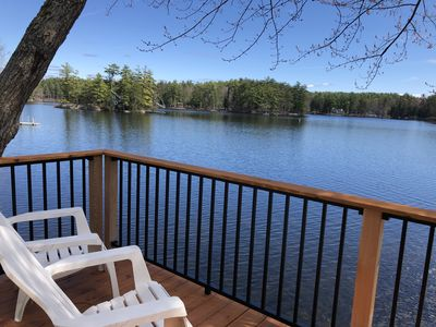 Photo for NEW! Winnipesaukee Cottage with Dock - Meredith, NH