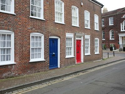Photo for Beautiful character terraced house in Poole's Historic Old Town