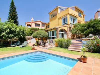 Photo for 4BR Villa Milana, Private Pool, Sea Views. Wifi, 3 mins Drive to the Beach