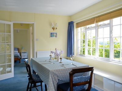 Photo for Charming cottage, set in a large garden within a Devon village with lovely views