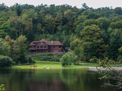 Spectacular 4 Season Home On Spruce Lake Near Mt. Snow