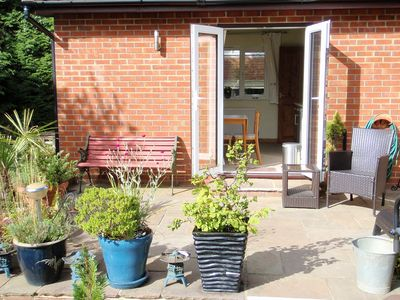 Photo for Annexe with countryside views, Hot Tub, free WiFi and off street parking
