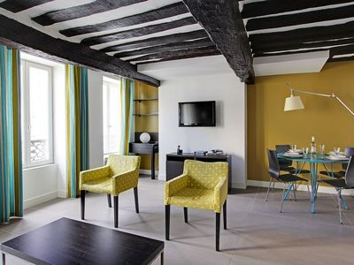 Photo for 102914 - Colorful and modern apartment for 4 people in the Montorgueil apartment