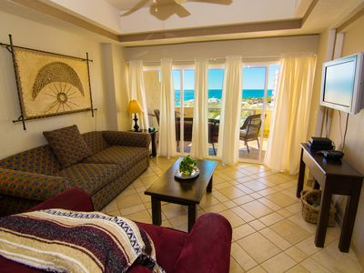 Photo for Beautiful 1½ Bedroom Condo on the Sea of Cortez at Las Palmas Resort D-403A