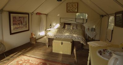 Photo for Glamping Tent II, Located On 80 Acre Ranch , Helena Mt
