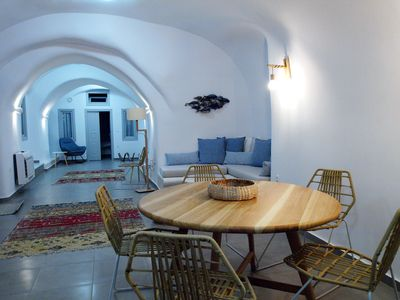 Photo for Santorini Caves is a complex of cave-houses built with traditional architecture