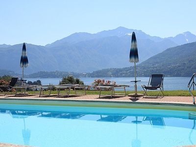 Photo for Casa Panorama Cinque: A bright and cheerful apartment situated at a short distance from the shores of Lake Como, with Free WI-FI.