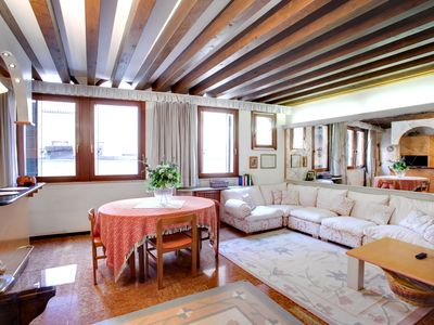 Photo for Central apartment in Venice for 5 people