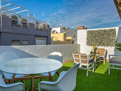 Photo for Beautiful and brand new 2 BD duplex with terrace. Galera IV