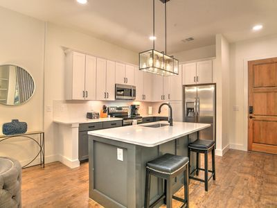 Photo for New, luxury 1 bdr/1 bath condo located in the heart of downtown Asheville~55 S. Market Unit #204