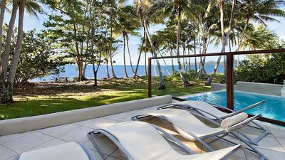 Photo for The Beach Villa on Absolute Beachfront with views