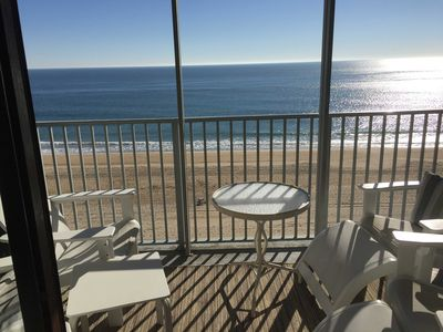 Photo for Oceanfront-Corner Unit, Fantastic Views, Comforts of Home, Two Reserved Parking!