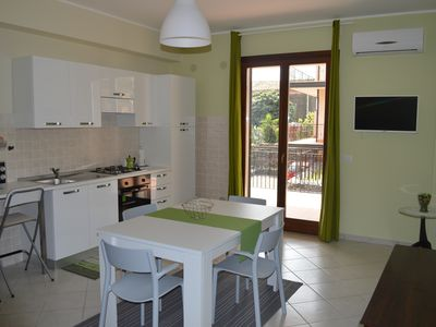 Photo for Al Borgo Fiorito, brand new well furnished apartment with terrace and parking space