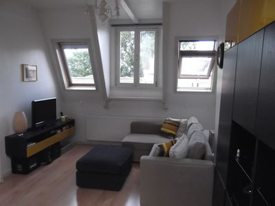 Photo for Cozy apartment near the Vondelpark and the Museum District!
