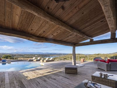 Photo for Bergerie 8/10 Pers, heated pool, sea view