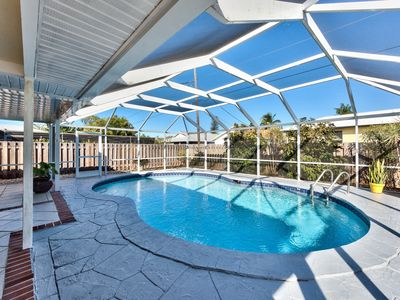 Photo for Beach Home, Vanderbilt Beach Home with Private Pool -   Free Bikes, Beauty of Naples.