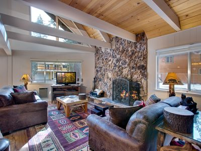 Photo for Champlain Cozy Tahoe Cabin. This is what coming to Tahoe is all about!