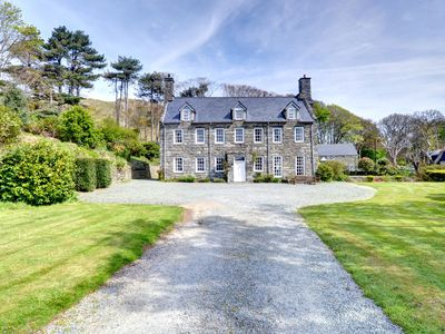 Photo for For a taste of country estate living Llanfendigaid is the house for you and you won't want for space