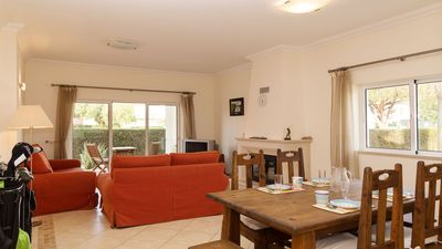 Photo for 2 bed 2 bath ground floor apartment close to golf, marina & beaches in Vilamoura