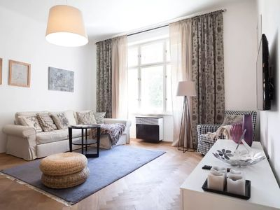 Photo for Chic and Spacious Apartment 5min from Historic Prague by easyBNB