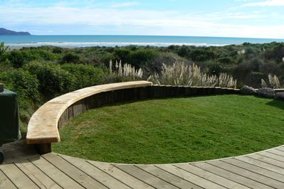Deck andamp; Beachside Lawn