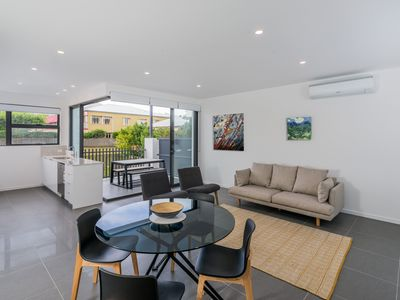 Photo for Executive 2BR Bulimba Apartment Across from the Park on Oxford St