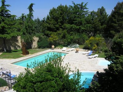 Photo for THE FARIGOULE AT MAS SAINT GENS PRIVATORY GARDEN IN PARK WITH SWIMMING POOLS